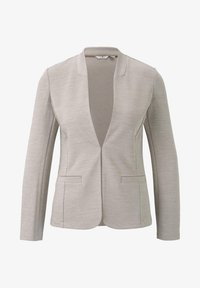 TOM TAILOR - PANEL POCKETS - Blazer - dusty taupe