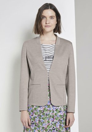 PANEL POCKETS - Blazer - dusty taupe