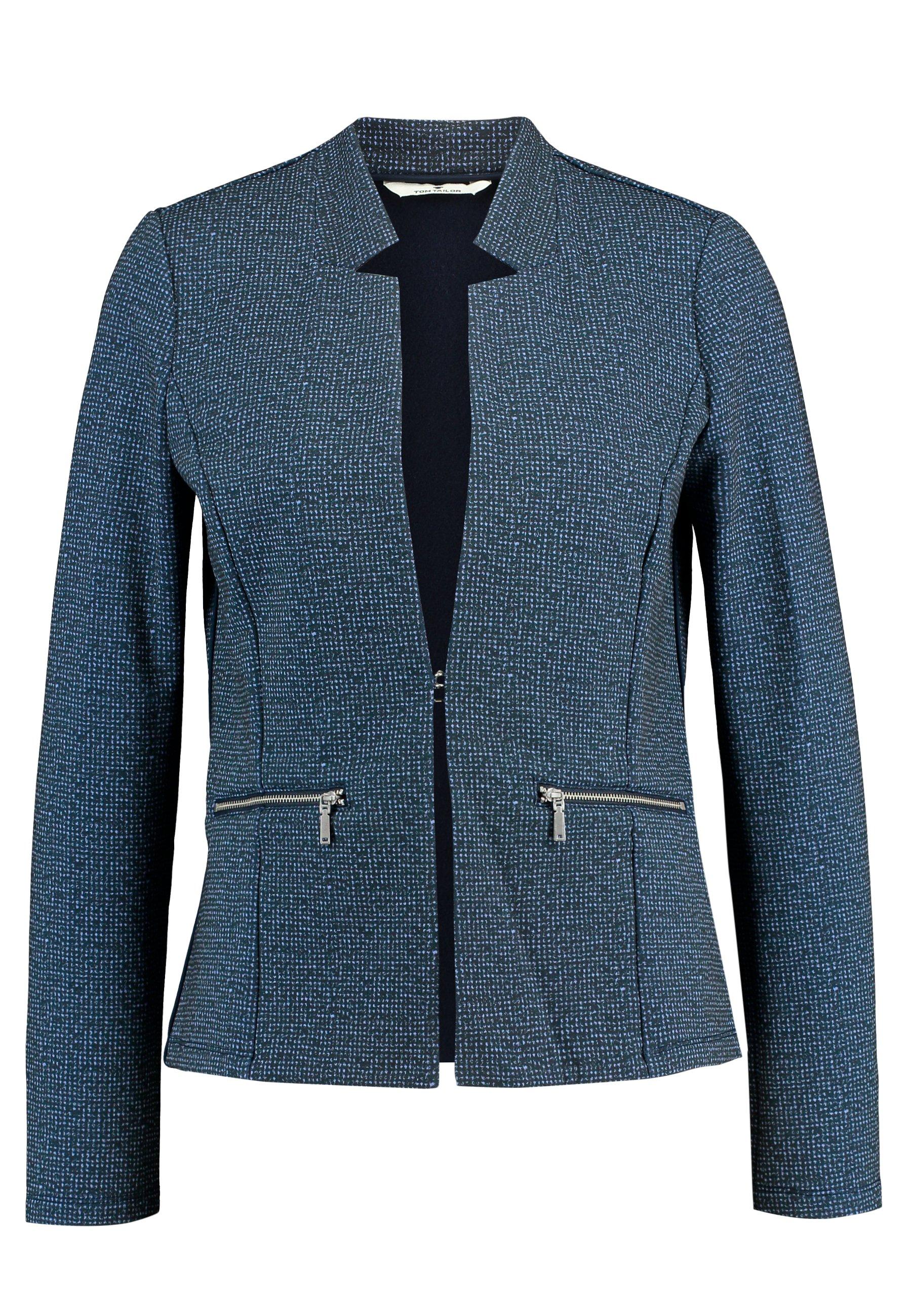 TOM TAILOR EASY STRUCTURE - Blazer - navy blue