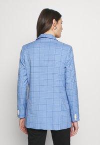 mine to five TOM TAILOR - MODERN GLENCHECK - Blazer - blue/check design - 2