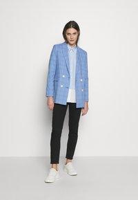mine to five TOM TAILOR - MODERN GLENCHECK - Blazer - blue/check design - 1