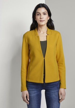 Blazer - deep golden yellow