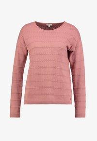 TOM TAILOR - STRUCTURED - Stickad tröja - vintage rose - 3