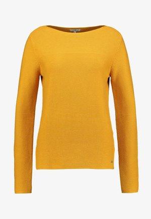 OTTOMAN STRUCTURE - Stickad tröja - merigold yellow