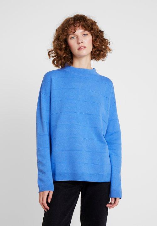 TOM TAILOR Sweter - sicilian blue Odzież Damska DDVQ-TB3 piękny