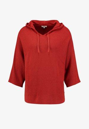 BATWING - Hoodie - dry red