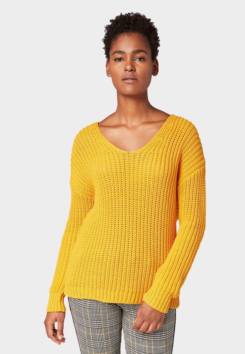 TOM TAILOR - LOOSE - Jumper - merigold yellow