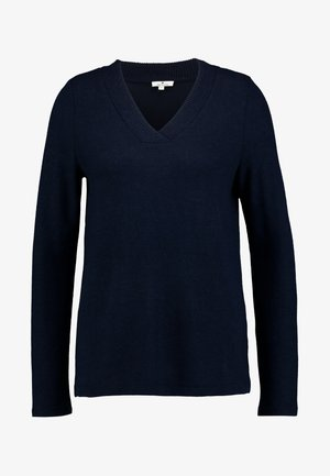 COSY V-NECK - Svetr - sky captain blue