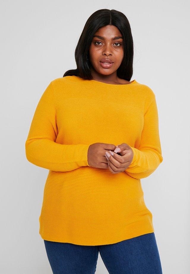 Strikpullover /Striktrøjer - merigold yellow