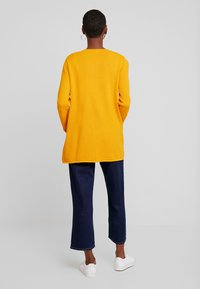 TOM TAILOR - CARDIGAN STRUCTURED - Cardigan - merigold yellow - 2