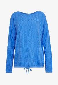 TOM TAILOR - ZIGZAG STRAP - Sweter - sicilian blue - 4
