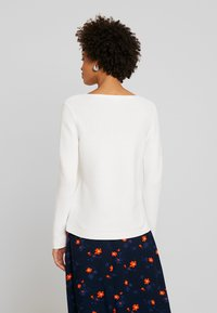 TOM TAILOR - SWEATER NEW OTTOMAN - Jersey de punto - whisper white - 2