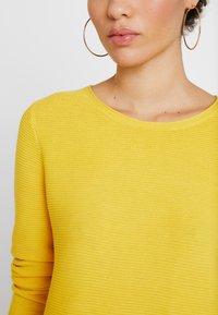 TOM TAILOR - NEW OTTOMAN - Sweter - jasmine yellow - 3