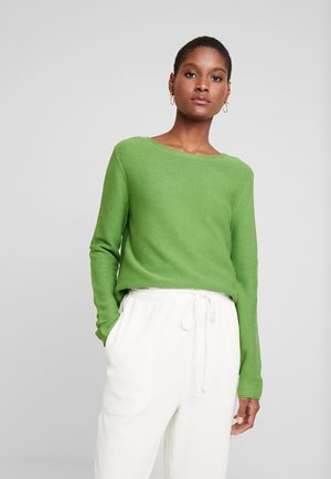 SWEATER NEW OTTOMAN - Sweter - sundried turf green