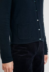TOM TAILOR - SMALL BUTTONED UP - Cardigan - sky captain blue