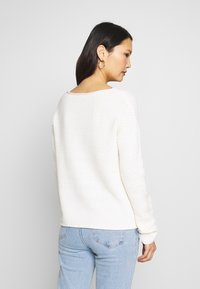 TOM TAILOR - BOXY STRUCTURE - Svetr - whisper white - 2