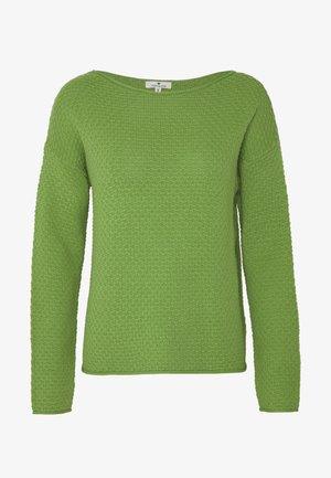 BOXY STRUCTURE - Jersey de punto -  green