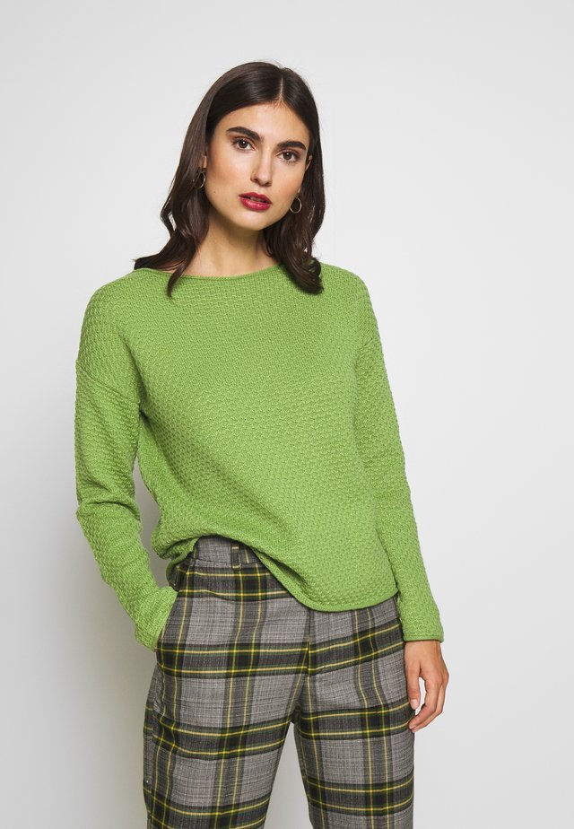 BOXY STRUCTURE - Jumper -  green