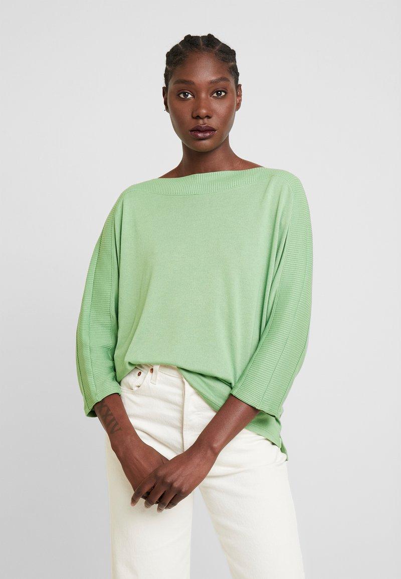 TOM TAILOR - Sweter - sundried turf green