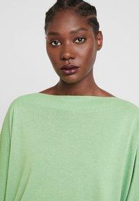 TOM TAILOR - Sweter - sundried turf green - 3