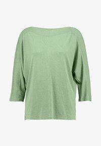 TOM TAILOR - Sweter - sundried turf green - 4