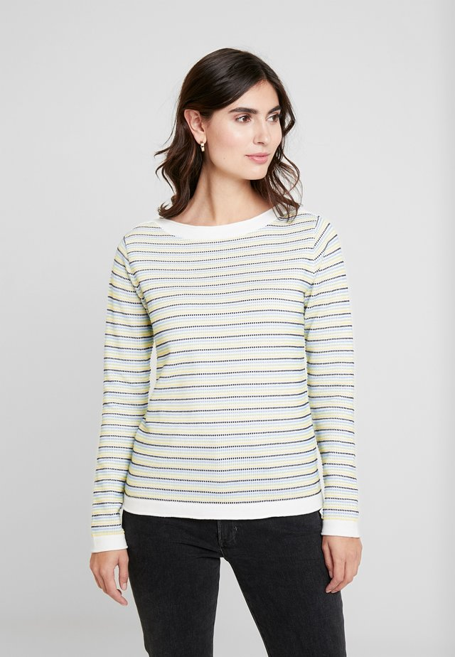 DOT STRUCTURE - Sweter - blue/green