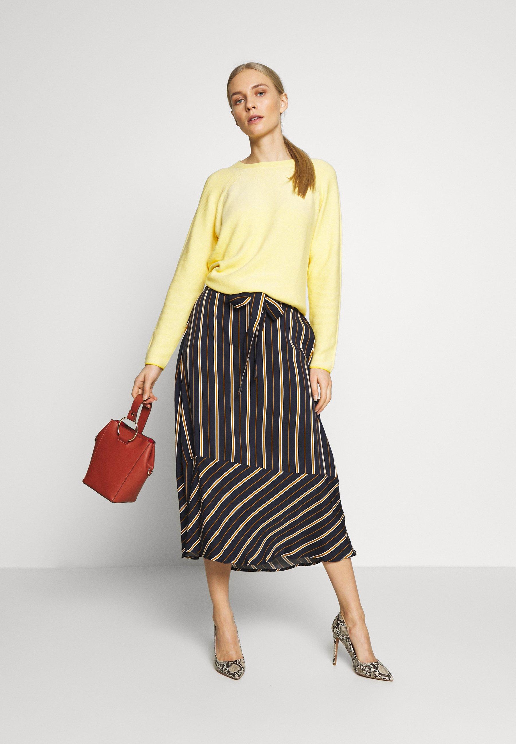 TOM TAILOR LINKS - Sweter - jasmine yellow