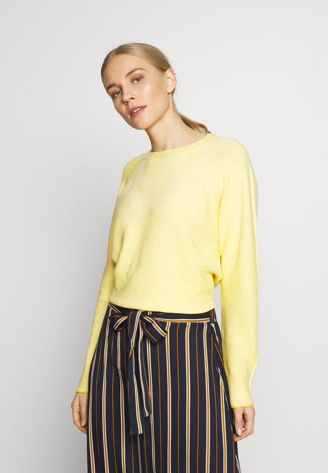 LINKS - Sweter - jasmine yellow