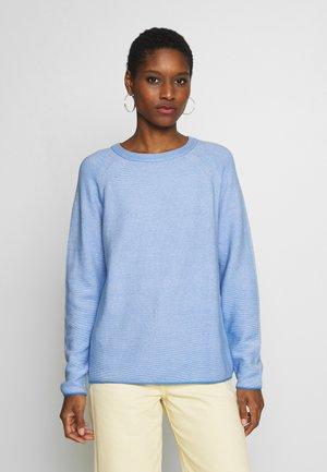 LINKS - Sweter - sea blue