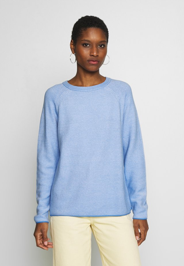 LINKS - Sweter - sea blue