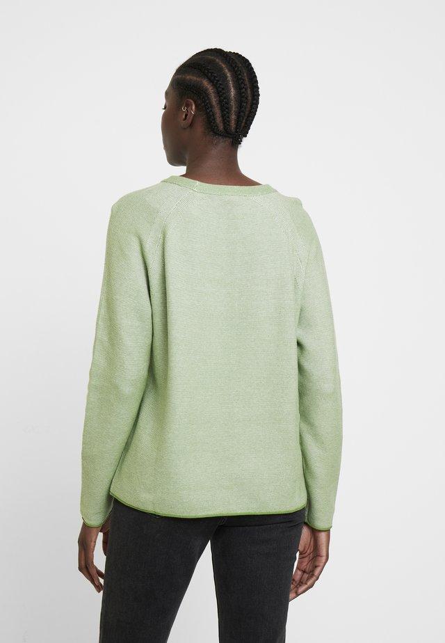 LINKS - Sweter - sundried turf green