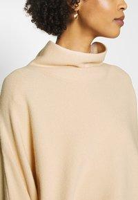TOM TAILOR - Sweter - soft vanilla /white - 4