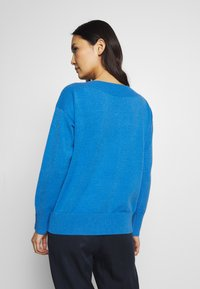 TOM TAILOR - SWEATER BOATNECK - Sweter - parisienne blue melange - 2