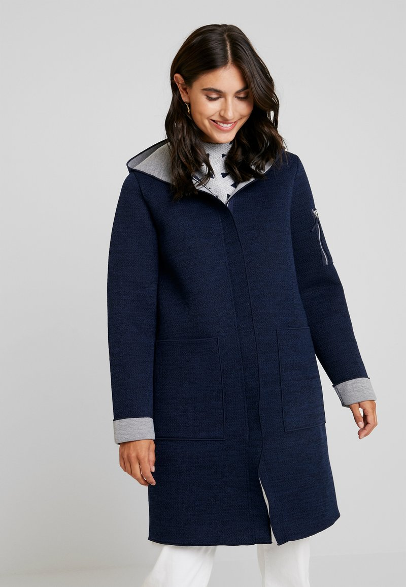 TOM TAILOR - DOUBLEFACE - Classic coat - sky captain blue