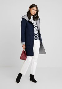 TOM TAILOR - DOUBLEFACE - Classic coat - sky captain blue - 1