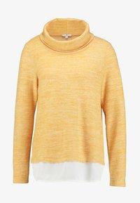 TOM TAILOR - SWEATSHIRT COSY - Jumper - merigold yellow - 3
