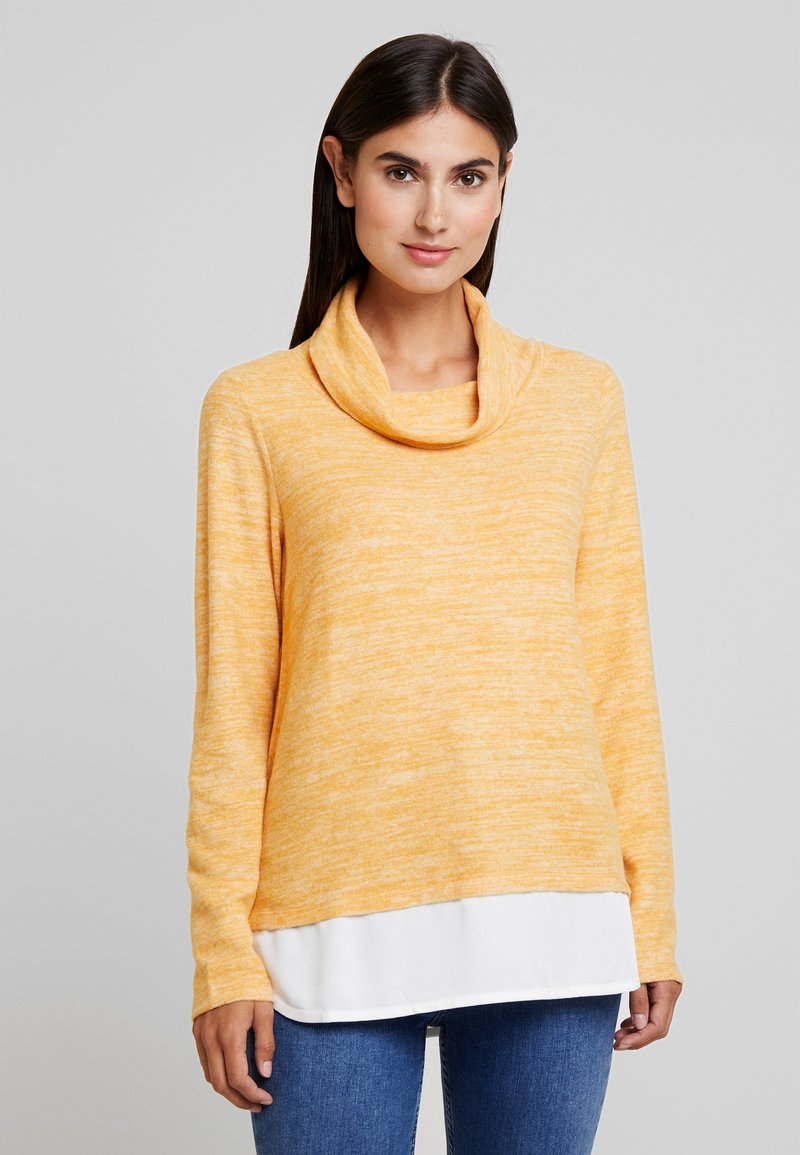 TOM TAILOR - SWEATSHIRT COSY - Jumper - merigold yellow
