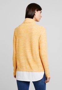 TOM TAILOR - SWEATSHIRT COSY - Jumper - merigold yellow - 2