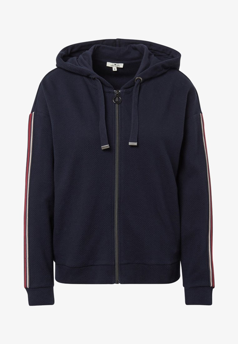 TOM TAILOR - Zip-up hoodie - sky captain blue