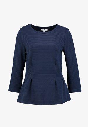 STRUCTURE CREW-NECK - Langærmede T-shirts - sky captain blue