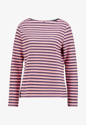 STRIPE STRUCTURE - Bluzka z długim rękawem - blue/multicolor