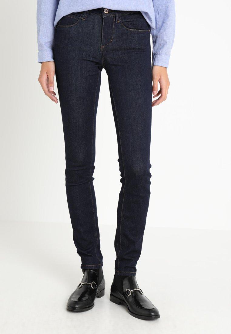 TOM TAILOR - CLEAN ALEXA PANTS - Jeans Slim Fit - rinsed blue denim