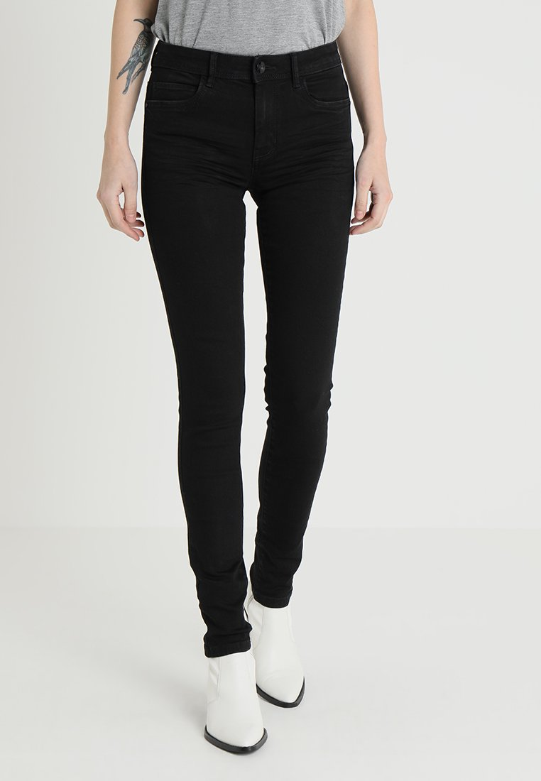 TOM TAILOR - KATE - Jeans Skinny Fit - black denim