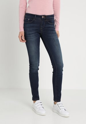 ALEXA - Skinny džíny - dark stone wash denim blue
