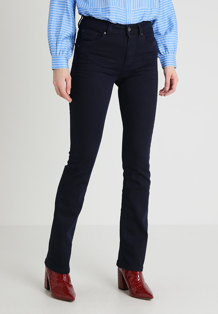 TOM TAILOR - TOM TAILOR KATE NARROW BOOTCUT - Jeans Bootcut - clean rinsed blue denim