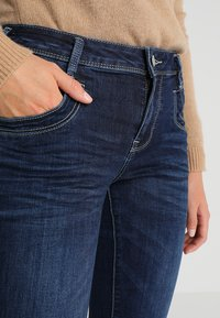 TOM TAILOR - ALEXA - Jeans a sigaretta - dark stone denim blue - 4