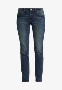 TOM TAILOR - ALEXA - Džíny Slim Fit - dark stone wash denim blue - 4