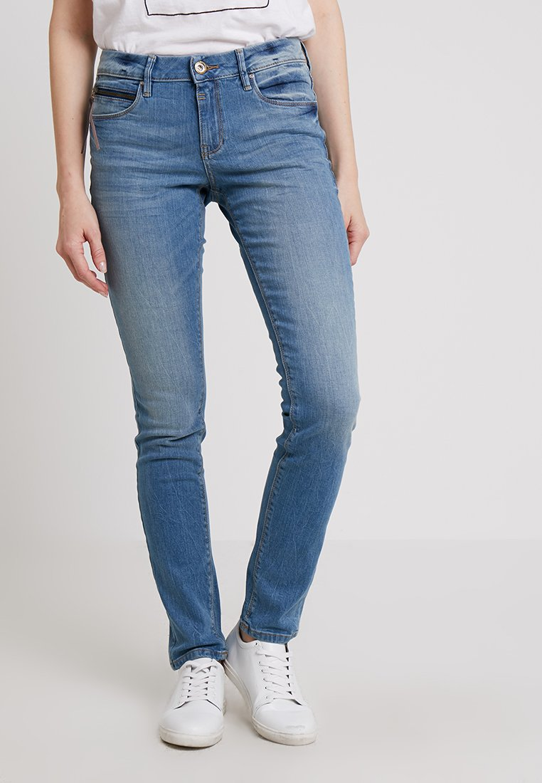 TOM TAILOR - ALEXA - Slim fit jeans - light stone wash denim