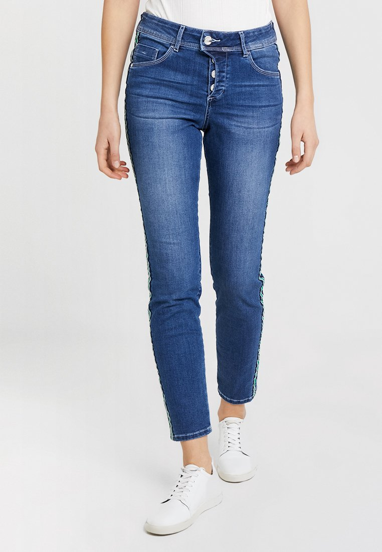 TOM TAILOR - Jeans Relaxed Fit - stone blue denim
