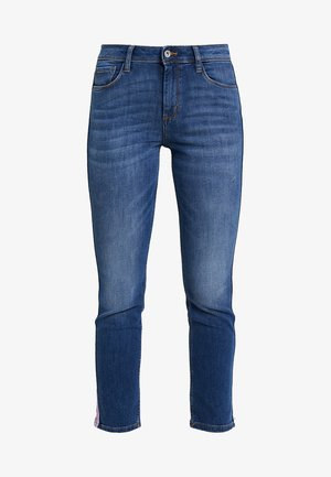 KATE ANKLE - Slim fit jeans - mid stone bright blue denim
